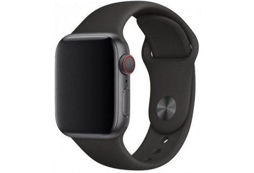 Ремешок Apple Watch 40мм, спортивный, чёрный