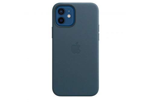 Чехол Apple iPhone 12 | 12 Pro Leather Case with MagSafe - Baltic Blue
