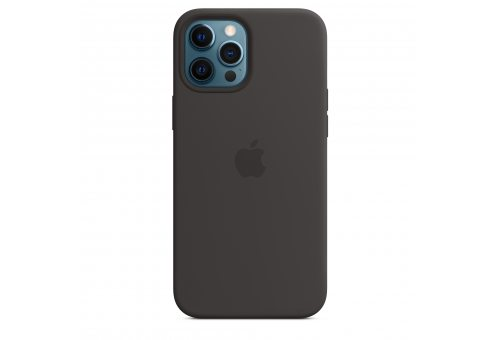 Чехол Apple iPhone 12 Pro Max Leather Case with MagSafe - Black