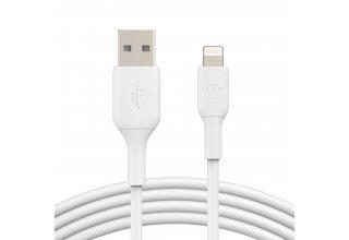 Кабель Belkin Boost Charge USB-A/Lightning 1м, белый