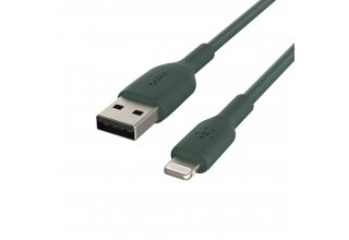 Кабель Belkin Lightning - USB-A 1M, зеленый Belkin CAA001bt1MMG CAA001bt1MMG