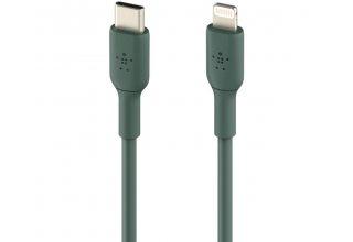 Кабель Belkin Lightning - USB-C, 1m, зеленый
