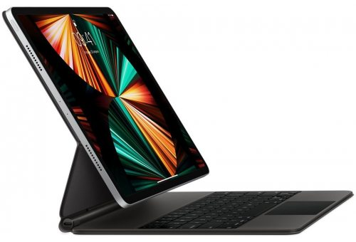 Клавиатура Magic Keyboard для iPad Pro 12,9 дюйма (5‑th gen), чёрная Apple MJQK3RS/A MJQK3RS/A