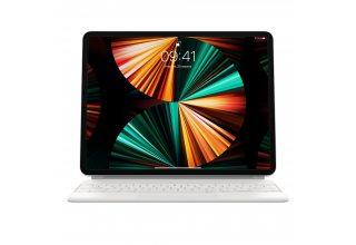 Клавиатура Magic Keyboard for iPad Pro 12.9-inch (5th generation) - Russian - White