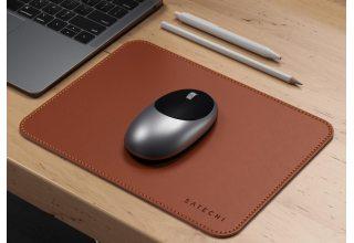Коврик Satechi Eco Leather Mouse Pad для компьютерной мыши, эко-кожа, коричневый