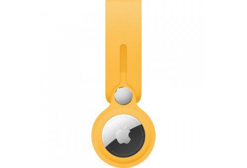Брелок-подвеска для AirTag, цвет Ярко-жёлтый