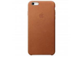Чехол Apple iPhone 6s Plus Leather Case - Saddle Brown