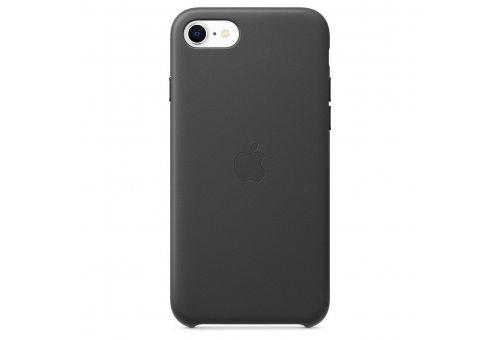 Чехол Apple iPhone SE Leather Case - Black