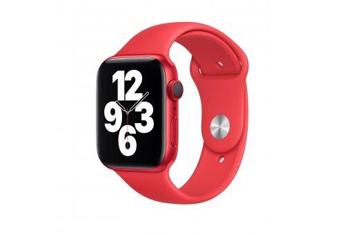 Ремень для часов Apple 44mm (PRODUCT)RED Sport Band - Regular