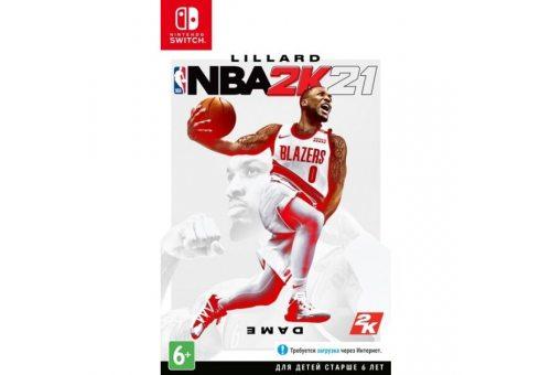 NBA 2K21 (Nintendo Swich, Английская версия)