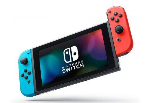 Nintendo Swith (неоновый красный / неоновый синий)