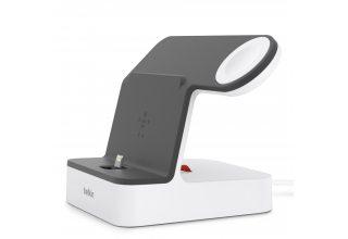 Док-станция Belkin для iPhone и Apple Watch, белый