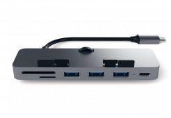 Адаптер Satechi Aluminum Type-C Clamp Hub Pro, «серый космос»