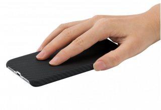 Чехол Pitaka MagCase для iPhone XS, черный-серый