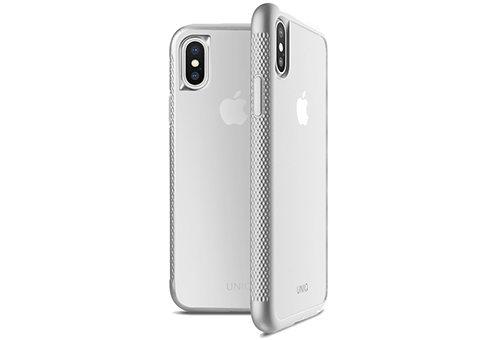 Чехол Uniq Glacier Frost Xtreme для iPhone X серебристый