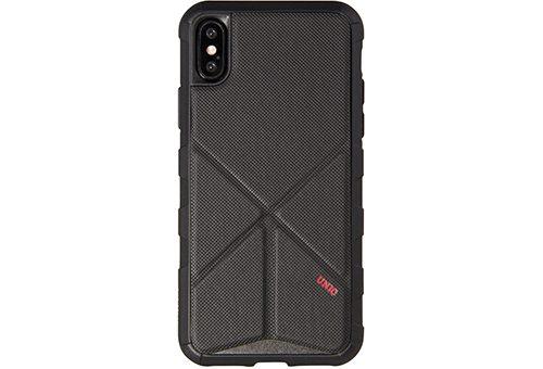 Чехол Uniq Transforma Rigor для iPhone X черный