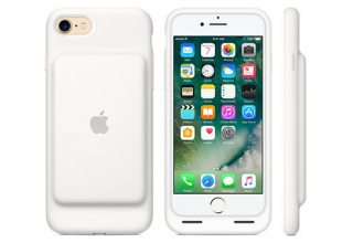 Чехол-аккумулятор Apple Smart Battery Case для iPhone 7/8, белый