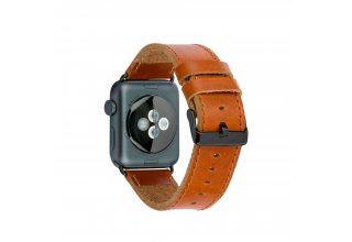 Ремешок Dbramante1928 Copenhagen для часов Apple Watch 42mm. Материал натуральная кожа. Цвет:коричне