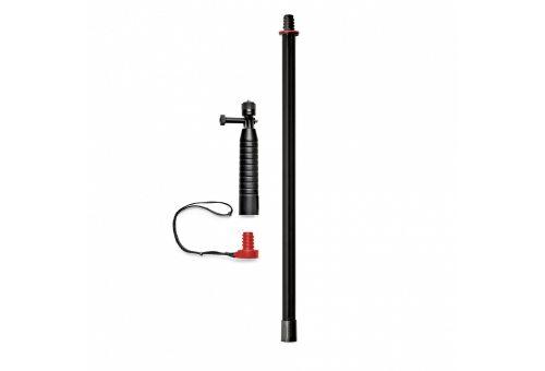 Рукоятка с моноподом JOBY Action Grip & Pole (черный/красный)