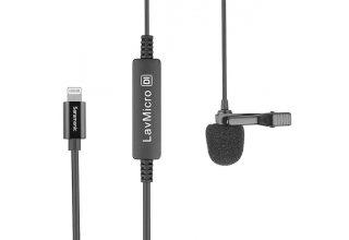 Saramonic LavMicro Di нагрудный микрофон для смартфонов (вход Apple Lightning)