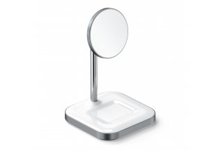Satechi Magnetic 2-in-1 Wireless Charging Stand. Цвет: серый космос. Satechi ST-WMCS2M ST-WMCS2M