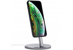 Подставка док-станция Satechi Aluminum Desktop Charging Stand для iPhone. Цвет серый космос.