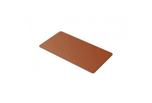 Коврик Satechi Eco Leather Deskmate для компьютерной мыши. Цвет коричневый.