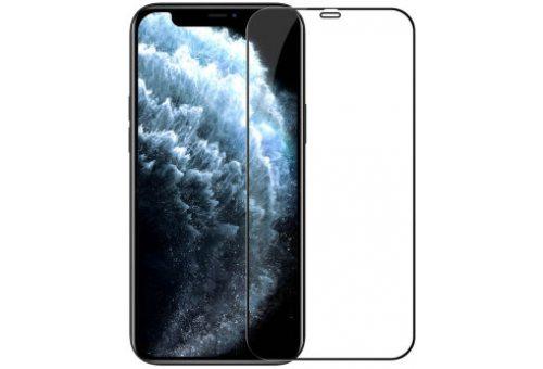 Стекло BlueO 2.5D Dustproof full cover (с защ. сеткой) для iPhone 12/12 Pro, 0.26 Clear