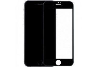 Стекло BlueO 3D Anti-Broken edge Anti-Peep (силик. рамка приватное) для iPhone 7/8, 0.25 mm Black