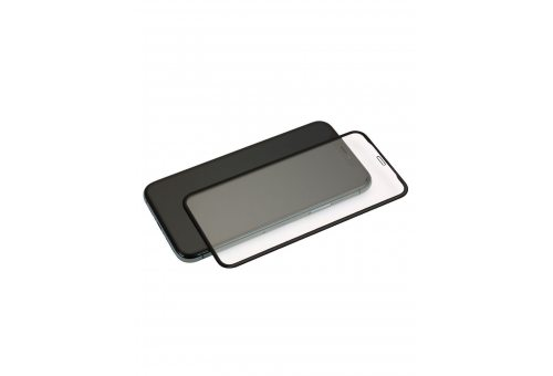 Стекло BlueO 3D ARMOR Silicone edge (армир. кромка) для iPhone 11 Pro Max /XS Max, 0.26mm Blk