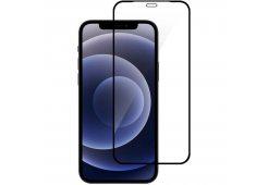 Стекло LUME Protection 2.5D SNB для iPhone 12 Pro Max, Black