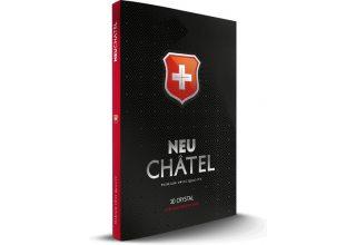 Стекло +NEU Chatel Full 3D Crystal for iPhone 11/XR Front Black