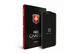 Стекло +NEU Chatel Full 3D Crystal for iPhone X/XS Front Black