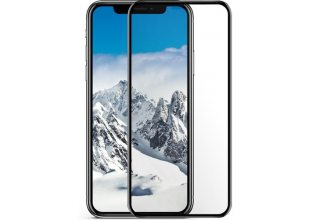 Стекло +NEU Chatel Full 3D Crystal for iPhone X/XS Front Black