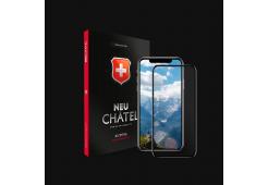 Стекло +NEU Chatel Full 3D Crystal с сеткой for iPhone XS Max Front Black