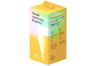 Умная лампа Яндекс, модель: YNDX-00010 (W-белый)
