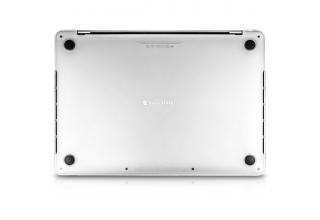 Защитная накладка SwitchEasy Nude Case для MacBook Air 13''( 2020/2020 M1). Цвет полупрозрачный.