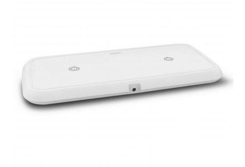 Беспроводное зарядное устройство ZENS Dual Fast Wireless Charger. Цвет белый.