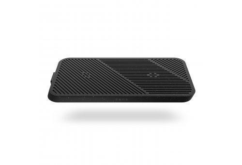 Беспроводное зарядное устройство ZENS Modular Dual Wireless Charger 2 x 15W. Цвет: черный.