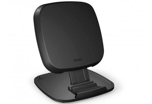 Беспроводное зарядное устройство ZENS Ultra Fast Wireless Charger Stand/Base. Цвет: черный.