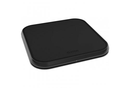 Беспроводное зарядное устройство ZENS Aluminium Single Wireless Charger. Цвет черный.