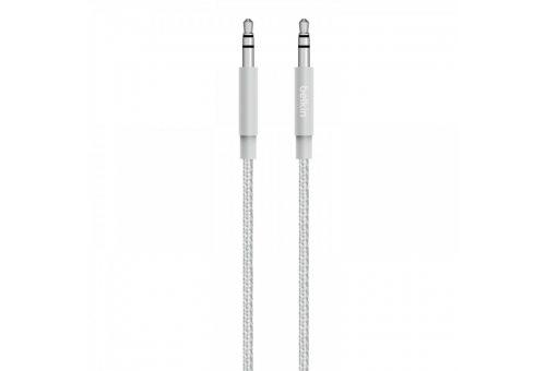 Кабель BELKIN Аудио кабель Belkin PREMIUM, Jack 3.5мм, 1.2м, серебро