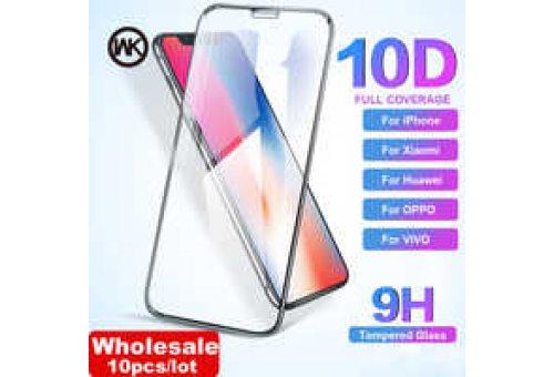 Защитное стекло iPhone X 10D