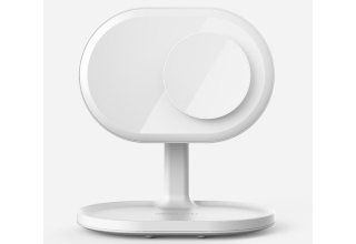 Зеркало Momax Q.Led Mirror with Wireless Charging and Bluetooth Speaker