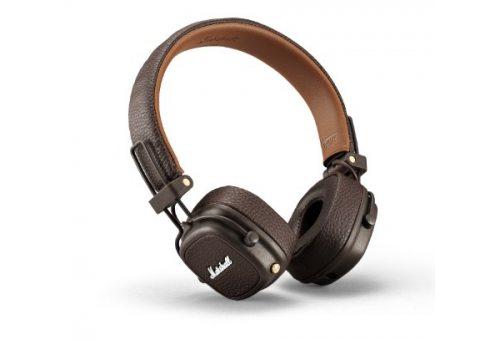 Наушники накладные Marshall MAJOR III Bluetooth, коричневый