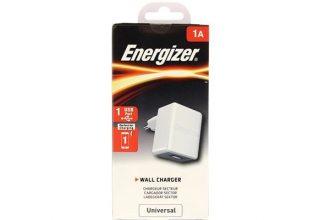 СЗУ CL Energizer 1A 1USB ACA1AEUCWH3, белый, арт. ACA1AEUCWH3