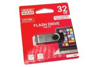 USB флэш-накопитель GOODRAM UTS3-0320K0R11; 32GB UTS3 BLACK USB 3.0