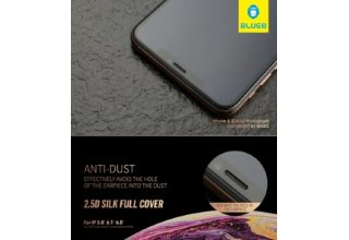 Стекло BLUEO 2.5D Silk full cover Narrow HD (с шелкогр. рамкой) для iPhone 11/XR, 0.26mm Black