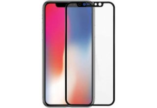 Стекло Goldspin 2.5D Full cover для iPhone X, 0.3mm Black (Box)