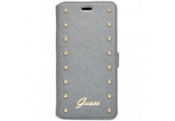Чехол Guess для iPhone 6 Plus/6S Plus Studded Booktype Silver